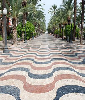 Doen in Alicante, Explana de Espana
