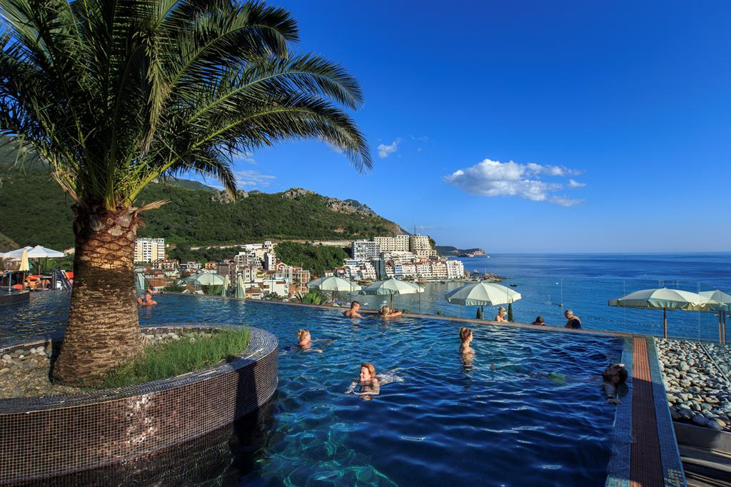 Badplaatsen Montenegro, Rafailovici: Falkensteiner Hotel Budva