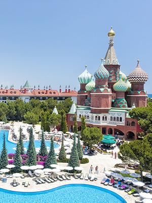Vakantie Lara Beach, WOW Kremlin Palace