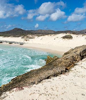 Stranden Bonaire, noordkust