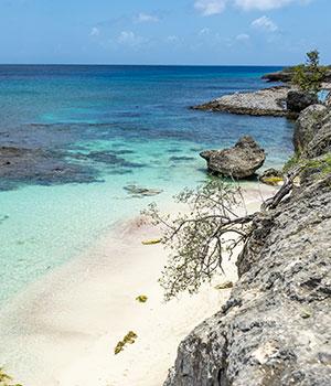 Stranden Bonaire, westkust