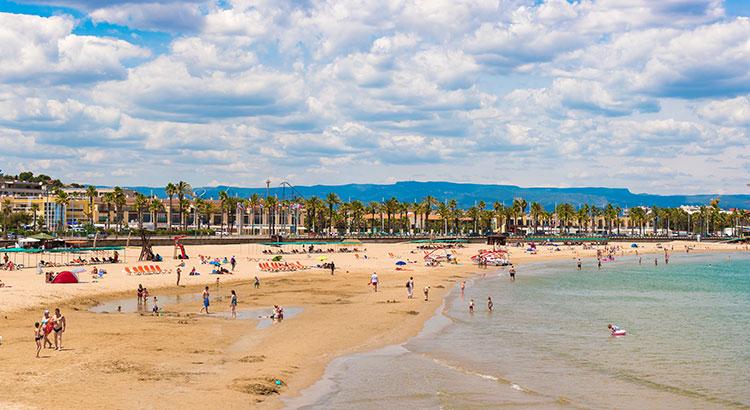 Mooiste stranden Costa Dorada›