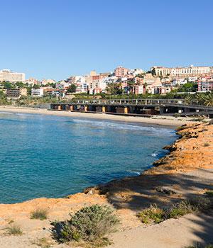Stranden Costa Dorada, El Miracle