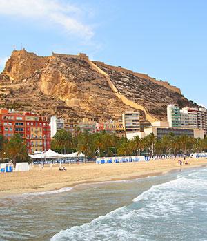 Vakantie Alicante, bezienswaardigheden