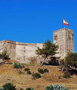 Vakantie Fuengirola, kasteel