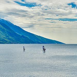 Actieve vakantie Gardameer, windsurfen