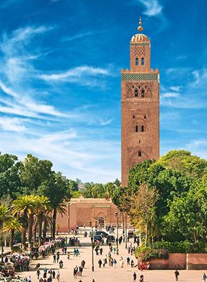 bezienswaardigheden-marokko-Koutoubia-Moskee