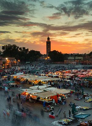 Bezienswaardigheden Marrakech: Djemaa el Fna