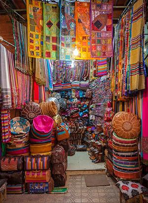 Bezienswaardigheden Marrakech: souks
