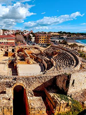 doen aan de Costa Dorada, Tarragona