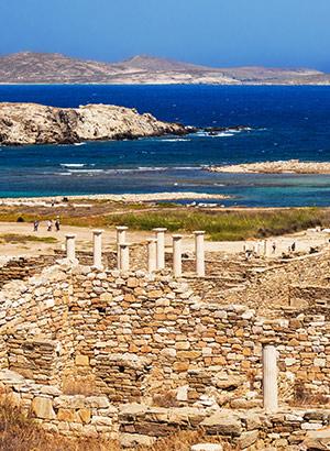 Doen op Mykonos: Delos