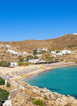 Doen op Mykonos: strand