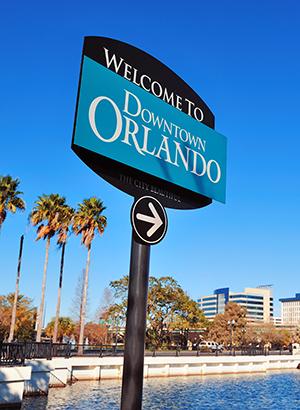 Doen in Orlando: downtown