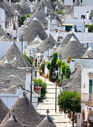 Mooiste dorpjes Puglia: Alberobello