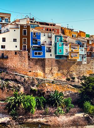 Kleurrijke Villajoyosa Costa Blanca
