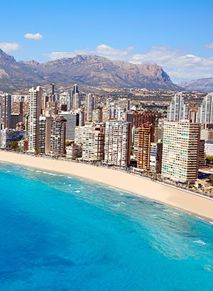 Mooiste stranden Costa Blanca: Benidorm