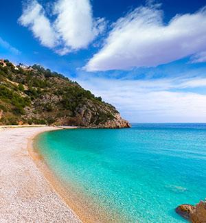 Mooiste stranden Costa Blanca, La Granadella