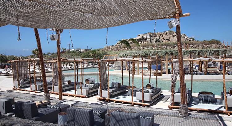 Mykonos zwembad SantAnna