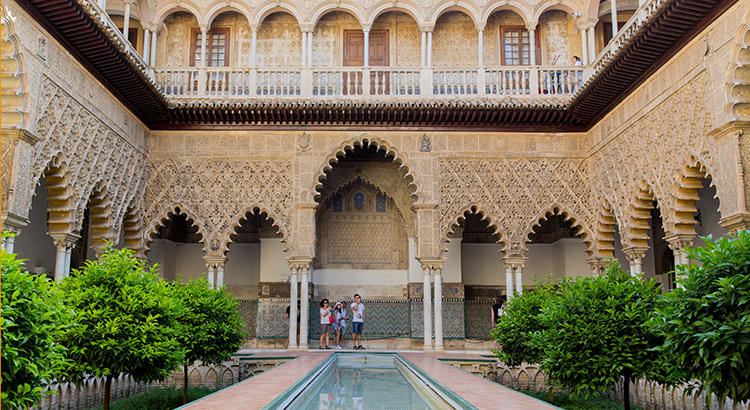 Real Alcázar, Sevilla: Koninlijk Paleis