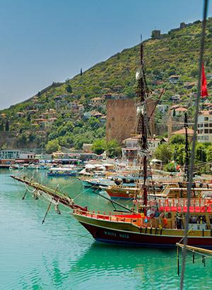 redenen Turkse Riviera: excursies