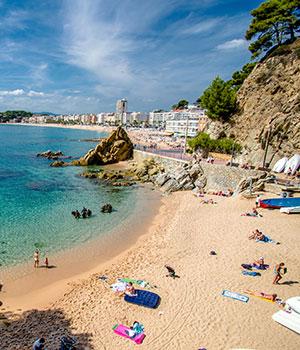 De mooiste stranden aan de Costa Brava, Sa Caleta