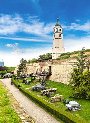 Stedentrip Belgrado; fort