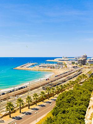 Tarragona hippe stad vol historie, haven