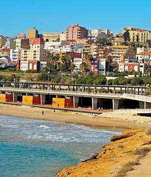 Tarragona hippe stad vol historie, strand