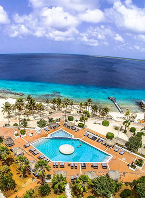 Wat te doen op Bonaire, Van der Valk Plaza Beach Resort Bonaire