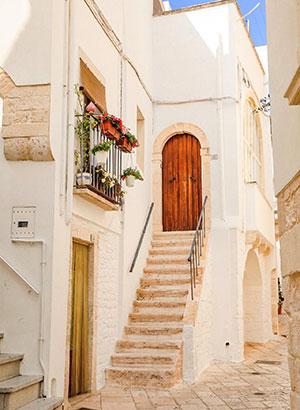 Witte dorpjes Puglia, Locorotonde