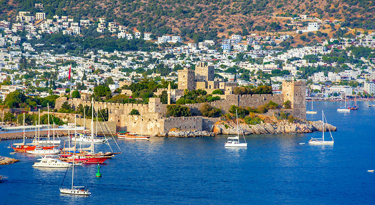 Badplaatsen Zuid-Egeïsche Kust