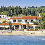 Bezienswaardigheden Corfu, Panela Beach Hotel