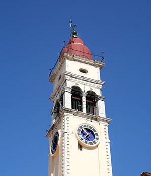 Bezienswaardigheden Corfu, religieuze architectuur