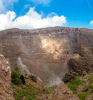 Vesuvius Napels, stukje geschiedenis