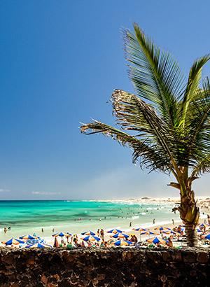 Badplaatsen Fuerteventura: Corralejo