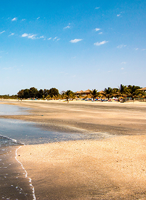 Badplaatsen Gambia: Kololi