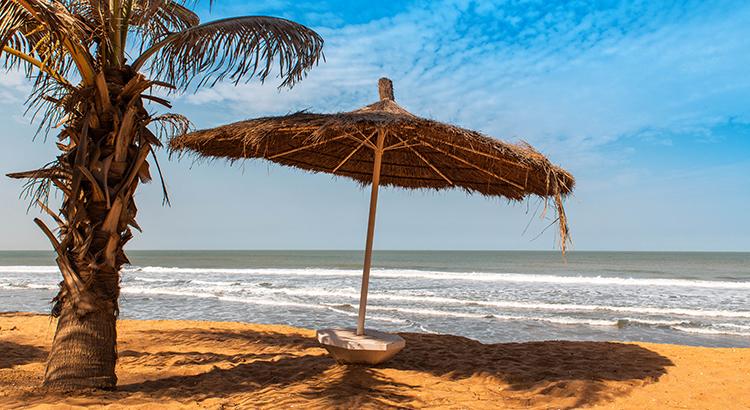 Badplaatsen Gambia