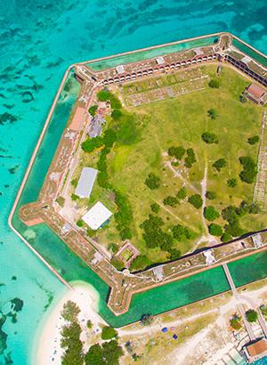 Bezienswaardigheden Florida: Dry Tortugas National Park