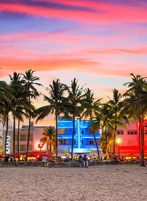 Bezienswaardigheden Florida: Ocean Drive