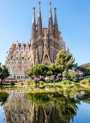 Doen Costa Barcelona, Gaudi Barcelona