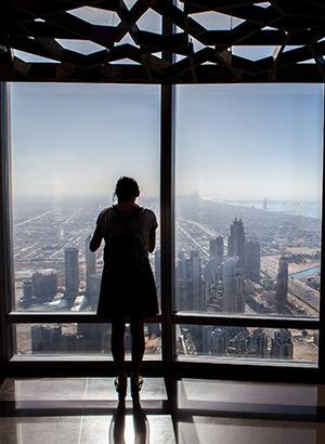 Downtown Dubai; Burj Khalifa