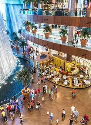 Downtown Dubai, mall