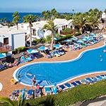 Oktober zon: Flamingo Beach, Lanzarote
