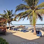 Badplaatsen Gambia: Kotu, Kombo Beach Hotel