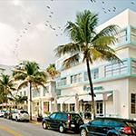 Bezienswaardigheden Florida: Ocean Drive, Penguin Hotel