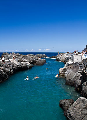Natuurzwembaden Tenerife: Caleton