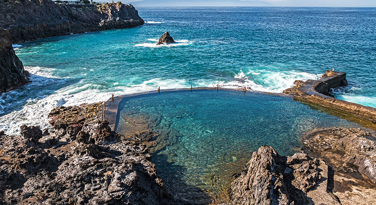 Natuurzwembaden Tenerife
