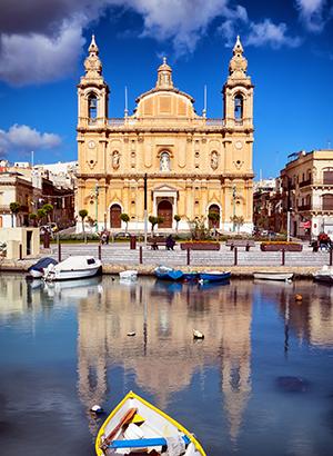 Oktober zon: Malta