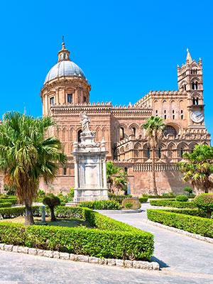 Palermo culturele schatkist Sicilië, kathedraal