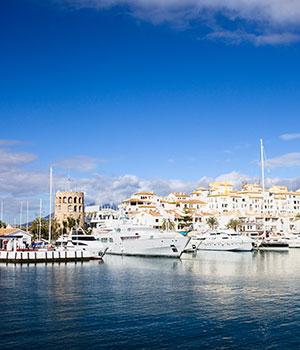 Puerto Banús haven van Marbella, Marbella